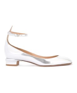Valentino | Ankle Strap Ballerinas Womens Size 35 Leather