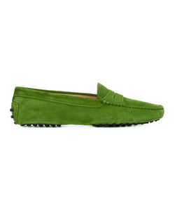 Tod's | Gommini Penny Loafers Womens Size 39 Calf Suede/Leather/Rubber