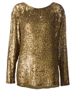 Beau Souci | Sequined Long Sleeve Top