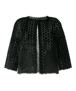 Yves Salomon | Reversible Cropped Jacket Womens Size 40 Rabbit Fur