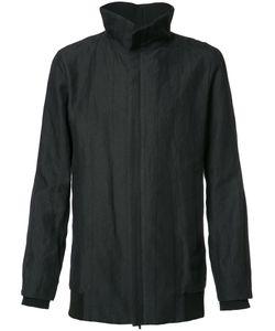 Devoa | Front Zip High Neck Coat Mens Size 4 Ramie/Polyester