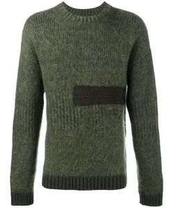 Helen Lawrence | Chunky Ribbed Jumper Mens Size Xl Lambs Wool/Mohair/Wool/Polyamide