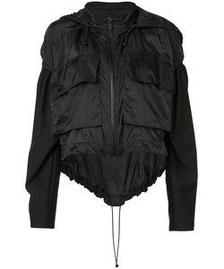 Vera Wang | Draped Windbreaker Womens Size Xs/S Nylon/Cotton