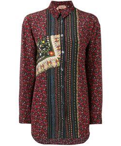 No21   Button Up Shirt Womens Size 40 Silk