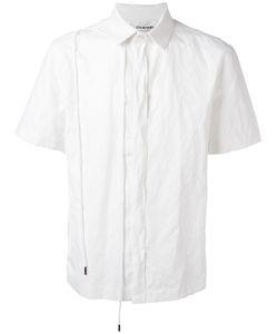 Chalayan | String Shortsleeved Shirt Mens Size 48 Cotton/Metal