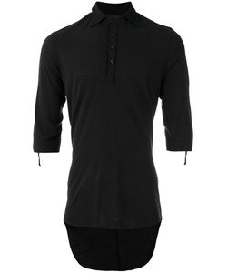 Cedric Jacquemyn   Dipped Hem T-Shirt Mens Size 48 Silk