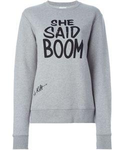 Le Kilt   She Said Boom Sweatshirt