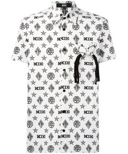 KTZ | Monogram Shortsleeved Shirt Mens Size Large Cotton