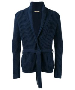 Nuur | Belted Cardigan Mens Size 52 Cotton/Nylon