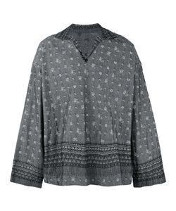 Sacai | Aloha Scarf Embroide Shirt Mens Size 3 Cotton