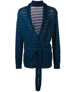 Nuur | Belted Cardigan Mens Size 48 Cotton