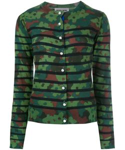 Muveil   Camouflage Cardigan Womens Size 40 Wool