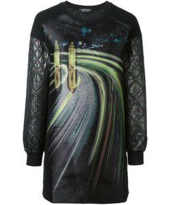 Antpitagora | Quilted Digital Print Sweatshirt
