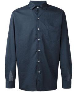 Massimo Alba   Plain Shirt Mens Size Small Cotton