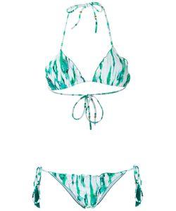 Brigitte | Printed Triangle Bikini Set Womens Size Gg Polyamide/Spandex/Elastane