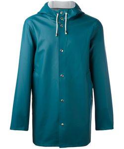 Stutterheim   Stockholm Raincoat Adult Unisex Size Small Pvc/Cotton/Polyester