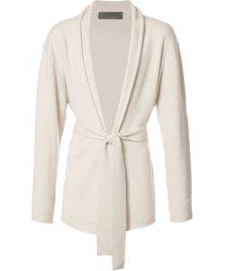 The Elder Statesman | Shawl Lapel Belted Cardigan Adult Unisex Size Medium