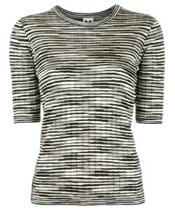 M Missoni | Striped Top Womens Size 40 Cotton/Polyamide/Viscose/ Fibre