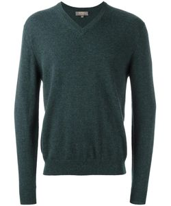 N.Peal | The Burlington V-Neck Pullover Mens Size Small Cashmere