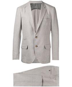 Brunello Cucinelli   Formal Two-Piece Suit Mens Size 50 Silk/Linen/Flax/Wool/Cupro