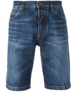 Dolce & Gabbana | Jazz Patches Denim Shorts Mens Size 50