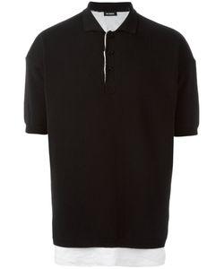 Raf Simons | Classic Polo Shirt Mens Size Large Cotton/Linen/Flax