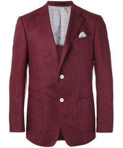 Z Zegna | Two Button Blazer Mens Size 56 Silk/Cupro/Cotton