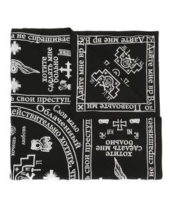 KTZ | Church Print Scarf Adult Unisex Cotton