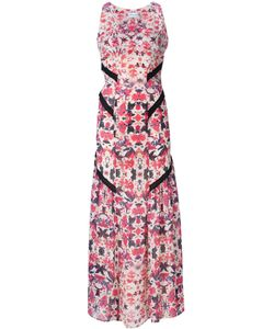 Sam & Lavi   Flower Print Long Dress
