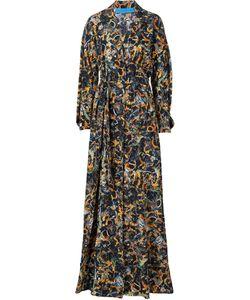 Jonathan Cohen | Waist Band Sunflower Print Dress