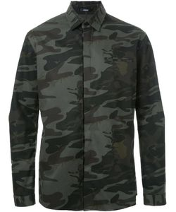 Assin | Camouflage Print Shirt