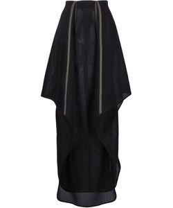 Dominic Louis | Asymmetric Mesh Skirt