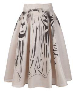 Dominic Louis | Printed Mesh Full Skirt