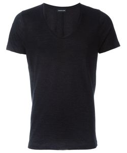 Exemplaire | Scoop Neck Fitted T-Shirt