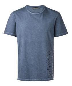 Haus | Stripe Detail T-Shirt