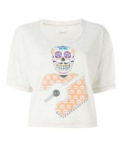 +People | Skull Print T-Shirt