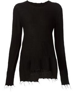Aleksandr Manamïs   Frayed Fine Knit Sweater