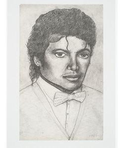 House Of Voltaire   Dawn Mellor Michael Jackson Lithograph On Paper