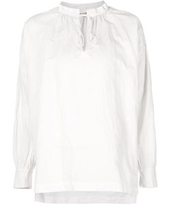 Arts & Science | Band Collar Tie Blouse