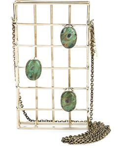 Anndra Neen   Embellished Cage Iphone Case
