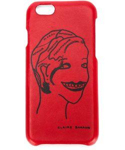 Claire Barrow   Portrait Motif Iphone 6 Case