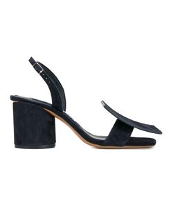 Jacquemus   Slingback Suede Sandals Womens Size 35 Suede/Leather