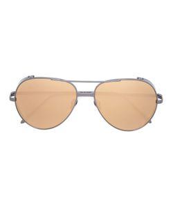 Linda Farrow | Aviator Sunglasses Womens Acetate