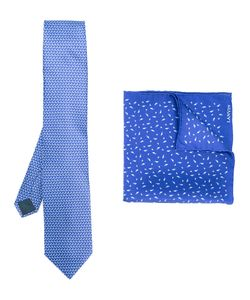 Lanvin | Geometric Pattern Tie Mens Silk