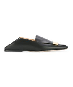 Sergio Rossi | Square Toe Loafers Womens Size 39 Leather