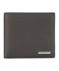 Ermenegildo Zegna | Logo Plaque Cardholder Mens Calf Leather