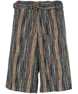 Missoni | Striped Bermuda Shorts Mens Size 50 Cotton/Wool/Polyester/Cupro