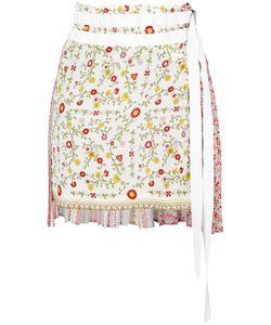 No21   Tie-Waist Skirt Womens Size 36 Silk