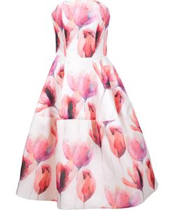 Christian Siriano | Strapless Gown Womens Size 6 Silk