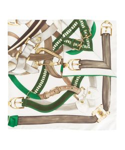 Bally | Belt Print Scarf Womens Silk